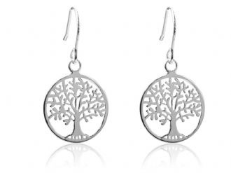STERLING SILVER TREE OF LIFE YGGDRASIL Earrings